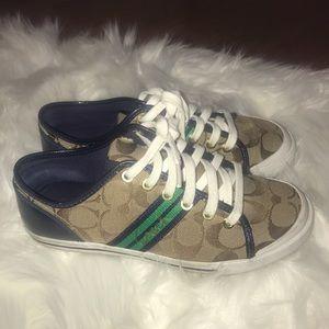 Coach tennis shoes. Size 7.5.